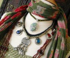 画像5: 砂漠の遊牧民アフガンビンテージネックレス*Kuchi*トライバルフュージョン衣装 (5)
