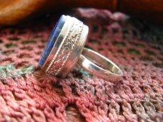 画像4: 神とつながる石*ラピスラズリのシルバーリング指輪サイズ18号*アフガン (4)