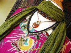 画像2: 日本より発送可能♪砂漠の遊牧民アフガンビンテージネックレス*トライバルフュージョン衣装 (2)