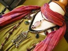 画像4: 日本より発送可能♪砂漠の遊牧民アフガンビンテージネックレス*トライバルフュージョン衣装 (4)