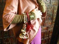 画像5: バンジャラ族ビンテージ子安貝(コウリー)ブレスレット*トライバル*エスニック*衣装 (5)