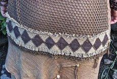 画像5: 残り1枚!!日本より発送♪着心地快適な手紡ぎ・手織りフェアトレードコットン&カディコットンの手染めネイティブトップ*ボヘミアン*ヒッピー*エスニック (5)