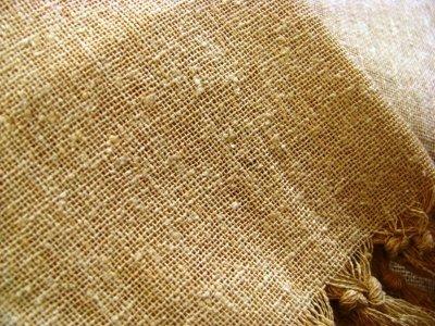 画像1: 日本より発送♪キッズ♪地球に優しい手紡ぎ&手織りローシルクのフリンジトップ*ピースシルク/ヴェジタリアンシルク*ヒッピー*旅人*ビーガン