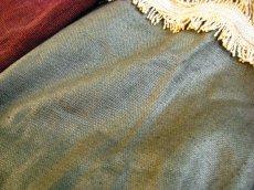 画像4: 日本より発送可能♪地球に優しい手紡ぎ・手織りローシルクのフォークロアデザイントップ/green*ネイティブアメリカン*エスニック (4)