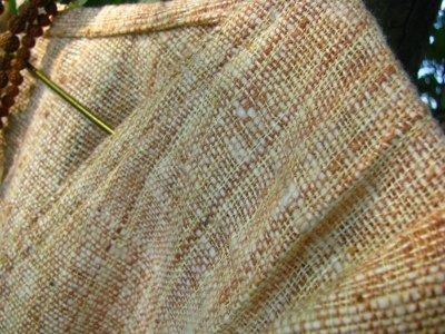 画像3: 日本より発送♪地球に優しい手紡ぎ・手織り*オーガニックなカディコットン妖精トップ*無農薬*フェアトレード*エコロジー*エスニック*トライバル