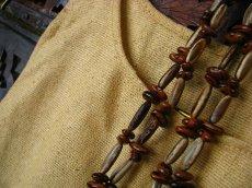 画像4: 日本より発送♪キッズ♪地球に優しい手紡ぎ&手織りローシルクシンプルトップ*ピースシルク/ヴェジタリアンシルク*無農薬*ビーガン (4)