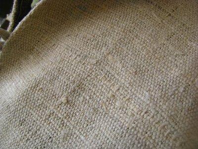 画像1: 残り1枚♪地球に優しい手紡ぎ・手織りヘンプのトライバル刺繍ジャケットエコファッション*エスニック*ボヘミアン