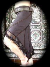 画像1: 再入荷★マルチに使える!!カナダ発ブランド Sati Creation オーガニックコットン ジプシースカート*フラメンコ*フェアトレード*ダンス衣装*フェスティバル (1)