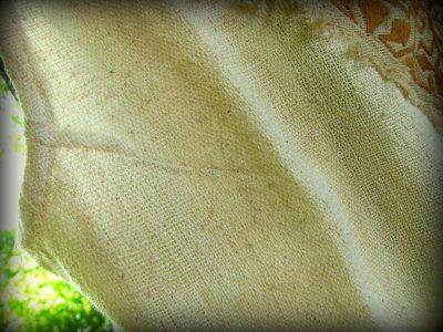 画像2: 地球に優しい手織りヘンプ麻素材のハンドメイド手刺繍ナチュラルトップ*エコロジー*ヒッピー*エスニック