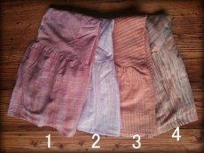 画像6: 新柄入荷♪手紡ぎ・手織りカディコットン ジプシースカート*無農薬*スローファッション*エコロジー*エシカルファッション (6)