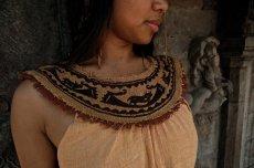 画像4: Sサイズ再入荷★ネイティブ刺繍ナチュラルトライバルなロングワンピース/ドレス*野外フェス*ヒッピー*ボヘミアン (4)