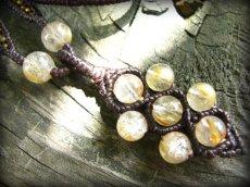 画像4: ゴールドルチル/ゴールドルチルクォーツ天然石ネックレス*パワーストーン (4)