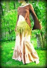 画像4: ヨガやダンスのレッスンにも♪4カラーあり♪柔らかライクラコットン★ピクシーロングスリーブ (4)