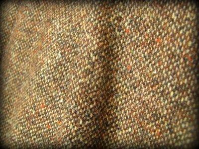 画像1: 身体に優しいあったか手織りウールのアステカ文様刺繍ハンドメイド スカート