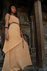 画像5: Sサイズ再入荷★ネイティブ刺繍ナチュラルトライバルなロングワンピース/ドレス*野外フェス*ヒッピー*ボヘミアン (5)