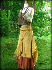 画像7: マヤ紋様手刺繍が個性的!!地球に優しい手織りリネン素材ベスト*トライバル*エスニック*無農薬オーガニック (7)