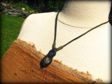 画像11: トルマリンインクォーツのペンダント/ネックレス*水晶*パワーストーン天然石マクラメ (11)