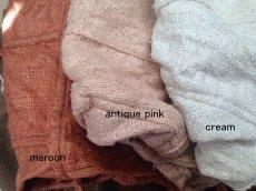 画像3: 日本より発送♪地球に優しい手紡ぎ&手織りローシルクのトライバルデザイントップ*ピースシルク/ヴェジタリアンシルク*ヒッピー*旅人*ビーガン (3)