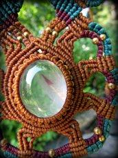 画像9: 1点物*高品質ブラジル産ガーデンクォーツ*デザインネックレス*庭園水晶*マクラメ*天然石パワーストーン (9)