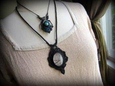 画像12: 浄化の石トルマリンインクォーツ ネックレス マクラメ編み*水晶*トルマリンクォーツ (12)