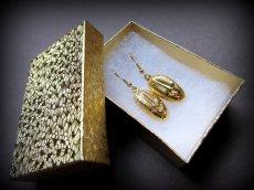 画像12: カナダ発ブランドMOSEKA アンセストラルジュエリーコレクション カナダ製 14K 金 イエローゴールド シンボリックピアス La beauté (12)