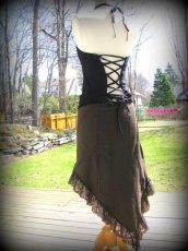 画像12: 再入荷★マルチに使える!!カナダ発ブランド Sati Creation オーガニックコットン ジプシースカート*フラメンコ*フェアトレード*ダンス衣装*フェスティバル (12)