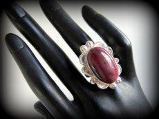 画像12: 大ぶり♪アボリジニの石オーストラリア産ムーカイト★シルバーリング指輪16号★天然石パワーストーン (12)