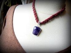 画像4: インスピレーションを高めるアメジストのペンダントトップ*紫水晶パワーストーン天然石 (4)