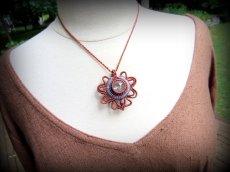画像6: 虹入り♪浄化の石トルマリンインクォーツ ネックレス マクラメ編み*水晶*トルマリンクォーツ (6)