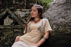 画像8: マヤ紋様手刺繍が個性的!!地球に優しい手織りリネン素材ベスト*トライバル*エスニック*無農薬オーガニック (8)