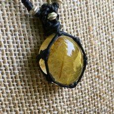 画像2: 【金運・行動力アップの石】ルチルクォーツ ペンダント*ゴールドルチル  (2)