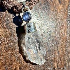 画像8: 1点物 高品質 レムリアンクォーツ水晶 原石+カイヤナイト ペンダントトップ★レムリア水晶 ヒーリングアクセサリー (8)